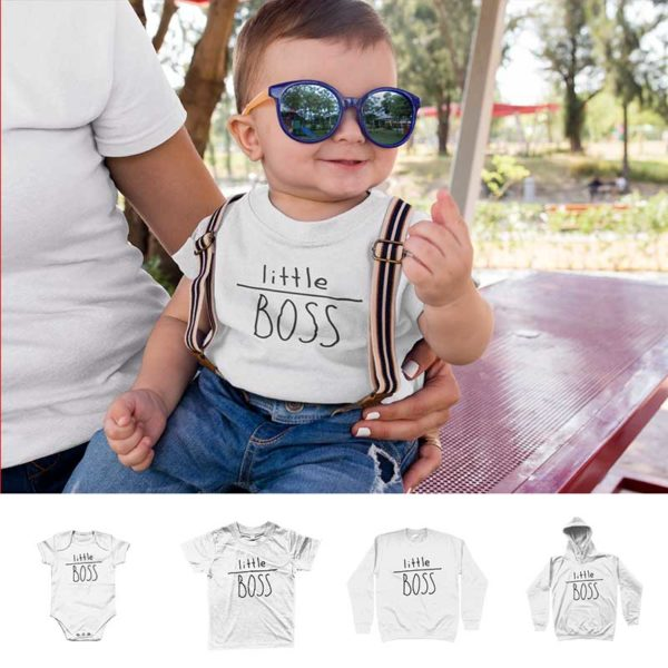 "T-shirt ""LITTLE BOSS"""