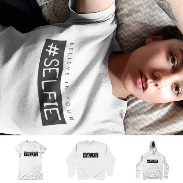 "T-shirt ""BELIEVE IN YOUR SELFIE"""