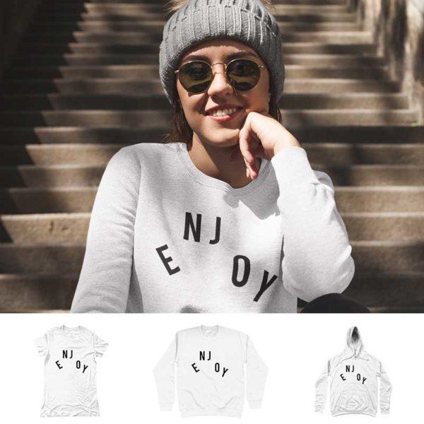 "Women Sweatshirt ""ENJOY"""