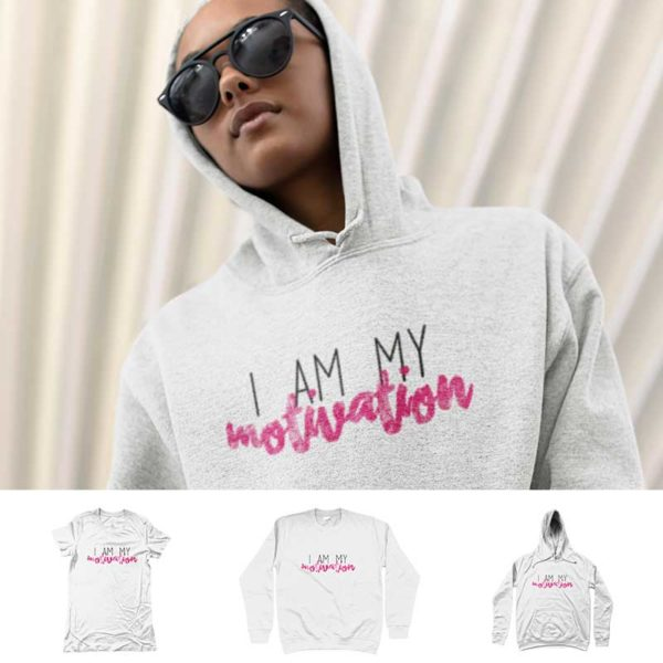 "Hoodie ""I AM MY MOTIVATION"""