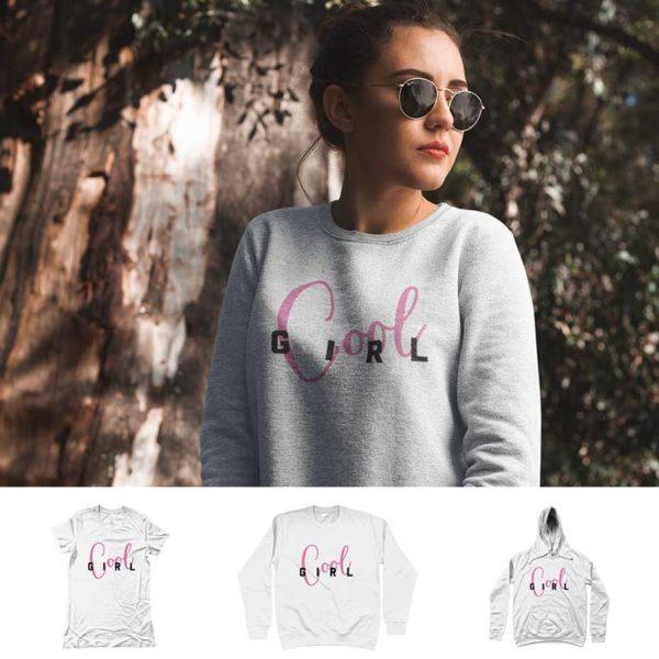 """Sweatshirt Women """"COOL GIRL"""""""