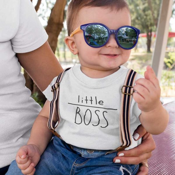 "Zoom T-shirt ""LITTLE BOSS"""