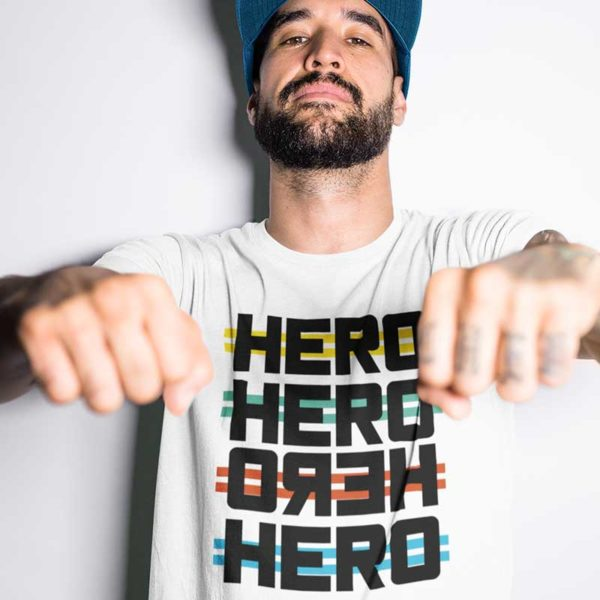 "Zoom T-shirt ""HERO"""