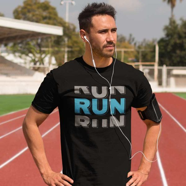 "Zoom T-shirt ""RUN"""