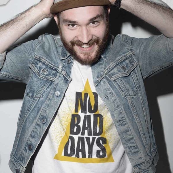 "zoom T-shirt ""NO BAD DAYS"""