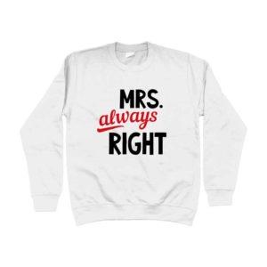Felpa-primaverile-mrs-always-right-unisex-shop-online-palermo-wippio-abbigliamento