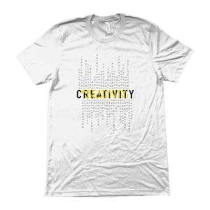 Maglietta-_CREATIVITY_-BIANCO-t-shirt casual -shopping online-abbigliamento-distribuzione-in-tutta-italia-wippio-vendita-online-spedizione-veloce