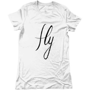 t-shirt-bianca-logo-fly-originale-idea-regalo