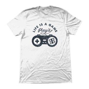 Maglietta-_LIFE-IS-A-GAME-PLAY-IT_-BIANCO-moda-design-uippio-vestiti-per-giovani-cagliari