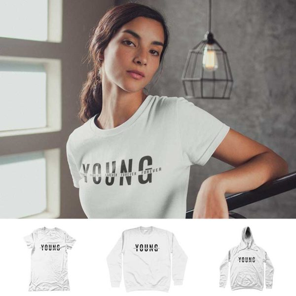 """T-shirt """"FOREVER YOUNG"""""""