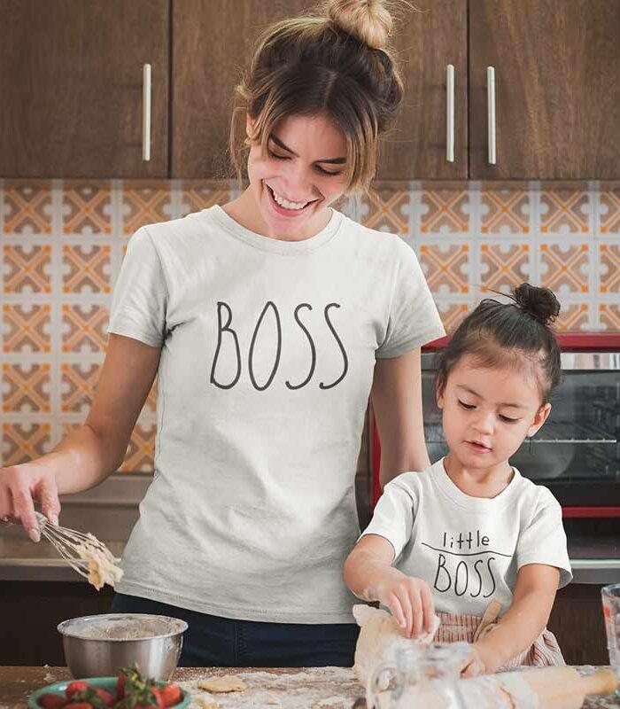 magliette-simpatiche-personalizzate-boss-little-boss-mamma-figlia-wippio