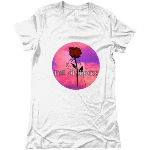 maglietta-full-of-thorns-tshirt-bianca-collezione-influencer-instagram-moda-shop-online