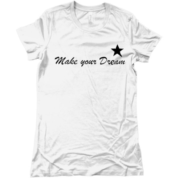maglietta-make-your-dream-tshirt-bianca-collezione-influencer-donna-instagram-moda-shop-online