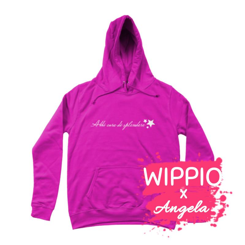 felpa-con-cappuccio-splendere-felpa-rosa-collezione-influencer-donna-instagram-moda-shop-online