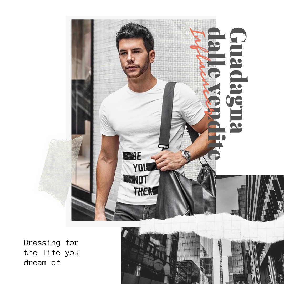 collezione-di-abbigliamento-e-moda-per-influencer-e-instagram-con-tshirt-e-felpe-da-uomo-e-donna